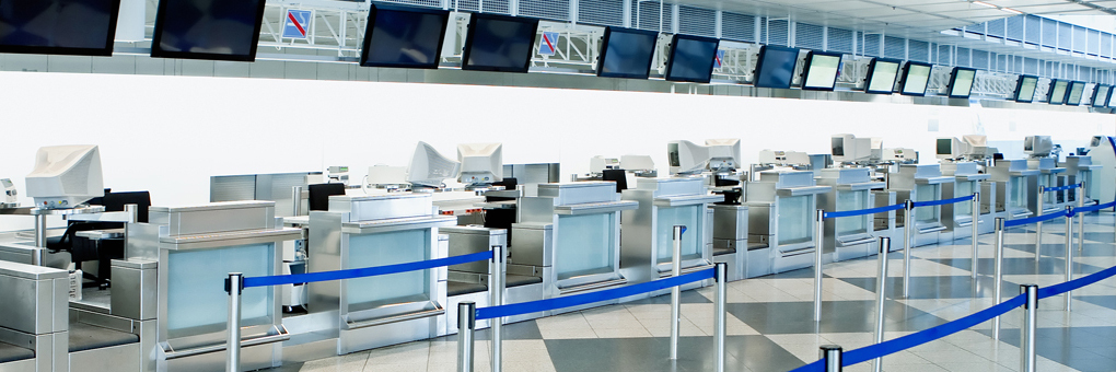 Airport Ticketing Area